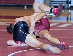 Mt Sac v Palomar - KV8A0483 (Leo Tard1) Tags: california ca usa male sport canon eos athletic wrestling indoor wrestler athlete communitycollege wrestle comets mounties singlet 2015 mtsac mtsanantoniocollege palomarcollege collegewrestling 7dmarkii