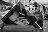 Torino 0394 (malko59) Tags: street urban blackandwhite torino disco record turin zero biancoenero mercatino renatozero granbalon