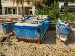 Our Next Assumed Cuban Boat (Denzil D) Tags: boat florida craft atlanticocean floridakeys beachcombing beachedboat appleiphone cubanrefugee iphonephoto