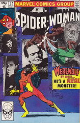 Spider-Woman 32 (micky the pixel) Tags: monster werewolf comics poster comic dracula frankenstein marvel heft spiderwoman werewolfbynight stephenleialoha
