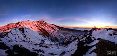 Valle del bove (Marco Restivo) Tags: italy snow del sunrise flow lava alba valle neve sicily etna bove schiena sudest crateri dellasino colate dicco