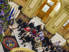 151217-Z-IM587-030 (CONG1860) Tags: usa colorado denver co veterans sacrifice heros militaryservice goldstarfamilies coloradonationalguard treeofhonor governorsownarmyband