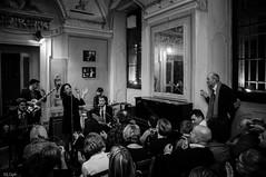 Sugar Pie And The Candymen @ Zingar Jazz Club (lorenzog.) Tags: bw italy club nikon italia livemusic jazz swing singer jazzclub faenza d300 italianjazz zingar jacopodelfini robertolupo sugarpieandthecandymen georgiaciavatta