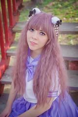 Glory (Gloria Salgador) Tags: school portrait cute girl uniform retrato harajuku kawaii seifuku