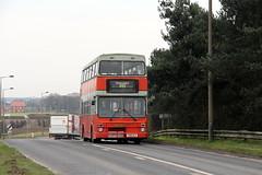Selwyn Motors 292 Belton-Doncaster F810 YLV 27th February 2016 (2) (asdofdsa) Tags: travel bus buses transport busstop passengers hatfield belton jubileebridge doncaster owstonferry selwynmotors barrydodds 1989mcwmetrobusii 27thfebruary2016