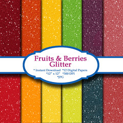 FruitandBerriesGlitterPaper (deniselynch2) Tags: glitter tangerine fruit digital scrapbook paper lemon strawberry berry inch berries personal x banana blueberry cranberry commercial pineapple use download raspberry apricot 12 kiwi 12x12