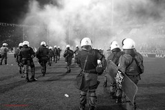 MAK_5587 (makridis pavlos) Tags: cup greek football stadium soccer north police gas greece macedonia thessaloniki tear riots shields helmets piraeus ultras fanatics paok olympiacos gate4