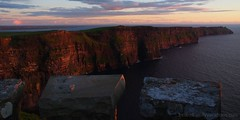 Cliffs of Moher at sunset (iatraveler) Tags: ireland cliffsofmoher atlanticocean countyclare wildatlanticway