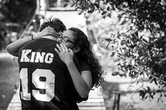 DSC_0093 b&w (marceislas98) Tags: blackandwhite love nikon hug couple dof bokeh expressive d3200 tacksharp bokehlicious bokehful 50mm18g iamnikon