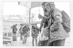 IMG_0945 (Bruno Meyer Photography) Tags: street leica winter people blackandwhite bw snow photography snowflakes voigtlander streetphotography umbrellas nokton leicacamera besançon leicaimages leicam240 leicacamerafrance