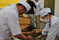 Sencha handrolling contest, Uji (Anutasclera) Tags: japan asia tea kansai uji eastasia sencha japanesetea handrolling kyotoprefecture