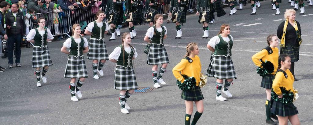 SHORECREST HIGH SCHOOL [ST. PATRICK'S PARADE IN DUBLIN 2016]-112260