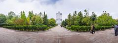 Monument to Party Founding (reubenteo) Tags: travel monument asia korea communist celebration kimjongil exotic soviet socialist metropolis northkorea pyongyang dprk kimilsung kimjongun