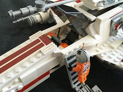 IMG_1265 (lee_a_t) Tags: starwars fighter lego xwing spaceship ewing rebels starfighter darkempire legoxwing legostarfighter legoewing