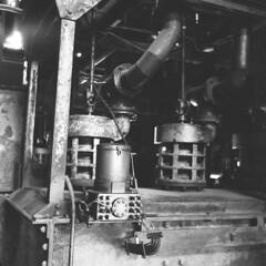 Zeche Zollverein (Herr Filmkorn) Tags: bw 6x6 film analog zeiss mediumformat essen ikoflex ishootfilm analogue zeissikon ruhrgebiet zollverein zeche weltkulturerbe fomapan mittelformat believeinfilm ibelieveinfilm filmistnotdead filmistnotead