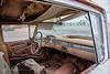 Seen better days (d_russell) Tags: auto newmexico car route66 automobile interior dashboard steeringwheel tattered ef24105mmf4 canon5dmarkiii