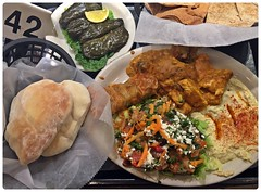 Big Farewell Dinner (Danburg Murmur) Tags: salad lemon texas houston plate 42 hummus hamos hummous pita homos houmous stuffedgrapeleaves פיתה pide חומוס meyerland hummos hommus hommos الخبز フムス حمّص fadi'smeyerlandmediterraneangrill