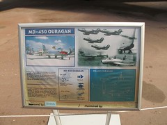 "Dassault M.D.450 Ouragan 2 • <a style=""font-size:0.8em;"" href=""http://www.flickr.com/photos/81723459@N04/25483133914/"" target=""_blank"">View on Flickr</a>"
