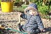 This ma trowel (nanila) Tags: portrait outdoor bluesteel keiki springiscoming