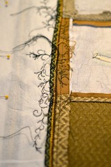 making a bag (Danny W. Mansmith) Tags: bag handmade sewing details workinprogress seams dannymansmith drawingwiththesewingmachine