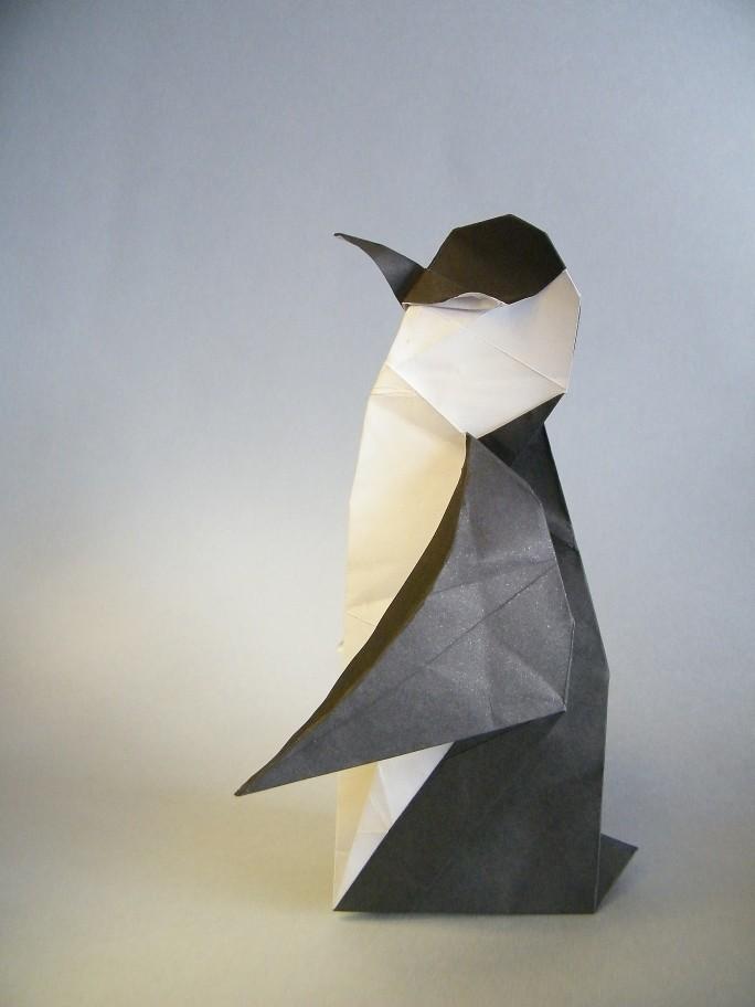 Roda Tags Penguin Origami Pingu Papiroflexia Pinguim