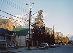 Banff (Catherine Lembl) Tags: mountain canada mamiya film analog kodak alberta banff portra mountrundle mamiya645