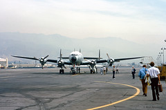 USAF, Lockheed C-121G Constellation (Ron Monroe) Tags: transport lockheed usaf constellation c121 unitedstatesairforce tyndalafb 044052 williamtell1972