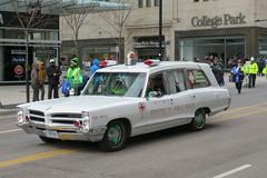 City of Toronto Ambulance - 1966 Pontiac (Sean_Marshall) Tags: toronto parade ambulance pontiac stpatricksday