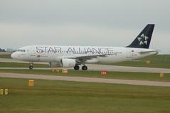 TAP Airbus A320-214 CS-TNP - Mancheste