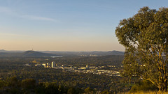 View from Mt Taylor (maerphoto) Tags: sunset sky night stars mt taylor canberra act