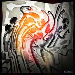 """Movers & Shakers"" iPad / ArtRage / Leonardo / Snapseed / Adonit Jot Touch #abstraction (donnacoburn1) Tags: mobile artistic drawing painting brush original creative safe public digitalartwork digital abstraction abstract arty apple app mobileart art image"