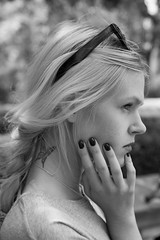 Yulia (Loc BROHARD) Tags: portrait blackandwhite woman girl model photoshoot bnw