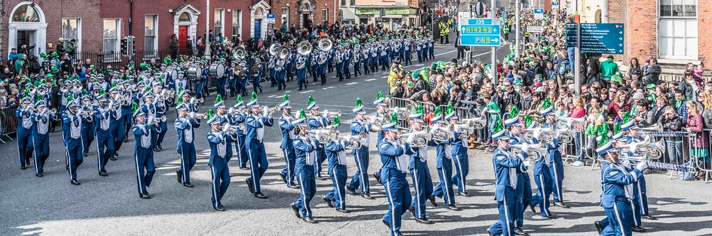 THE OLD DOMINION UNIVERSITY MONARCH MARCHING BAND [ST. PATRICK'S PARADE 2016]-112632