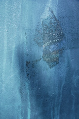 Secrets revealed (Djaron van Beek) Tags: abstract blue outerwall damaged imaginative myinterpretation chalk concrete color coloredchalkhasbeendiffusedbyrain lightanddarkspotsgiveideaof3d composition faded aesthetic monochrome minimal urban pastels closeup textures pattern standingfigurewithacloak azure grotesque alien entityexposed meltingice entity exposed interdimensionalbeing elementhal 1000faves djaron djaronvanbeek