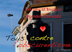 160321 tcoB 160323 © Théthi ( 2 pics ) (thethi: pls read my first comment, tks) Tags: conceptual bruxelles brussel brussels belgique belgïe belgium bestof2016 setmars attentat 19377166 halloffame fact80 faves90 setbrxl