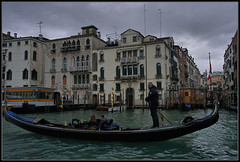 Who Pays the Ferryman? (J-o-h-n---E) Tags: travel venice holiday boat visit gondola grandcanal gondolier awps aperturewoolwich