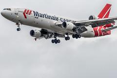 Martinair Cargo l PH-MCP l McDonnell Douglas MD-11F (Chuks32) Tags: london md11 stn schipholairport trijet mcdonnelldouglasmd11f phmcp triholer martinaircargo chuks32