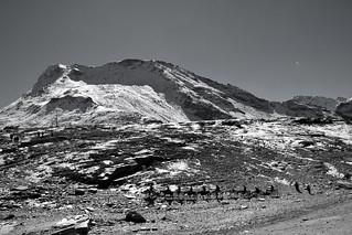 Himalayan landscape monochrome!