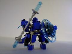 Blue Morpho : Weapons (Red_Robot_XIII) Tags: game mobile robot lego frame zero mecha microscale mfz mf0