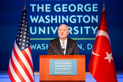 Turkish Foreign Policy in View of Recent Developments (ElliottSchool) Tags: turkey photography university library foreign turkish minister 2016 asset jma universityphotography assetlibrary bucketvip turkishforeignminister