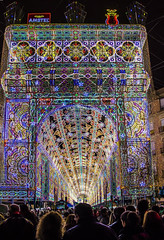 The lights of Ruzafa (Fil.ippo) Tags: lighting street valencia night lights celebration luci filippo lasfallas notturno d7000 filippobianchi