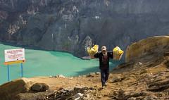 Schwefeltrger am Ijen (Ruedi of Switzerland) Tags: indonesia asia schwefel ijen