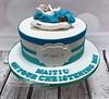 Maitiu - Christening Cake (PerfectionistConfectionist) Tags: christeningcake namingdaycake cakesdublin celebrationcakemalahide noveltycakeswords caketopperdublin