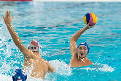 FINA Men's Water polo Olympic Games Qualifications Tournament 2016 - Trieste (ITA) (fina1908) Tags: blue italy men fina ita trieste waterpolo olympicgames qualification 2016 pallanuoto tournament2016 6lindhoutned