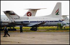 RA-88239 - Moscow Zhukovsky (ZHU) 17.08.2001 (Jakob_DK) Tags: 2001 zia uubw moscow moscowzhukovsky yakovlev yak yakovlev40 yak40 codling gai gromovair