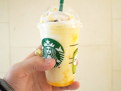 Starbucks Coffee   Apricot Honey Soy Frappuccino (INZM.) Tags: ice coffee japan japanese cafe honey starbucks apricot soy frappuccino            apricothoneysoyfrappuccino