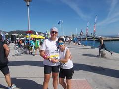 Mazi me tin Maria prin tin ekkinisi - 3 (illrunningGR) Tags: greece races halfmarathon volos marbie illrunning