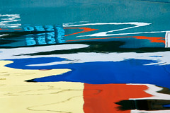 Burano abstrait (Corinne Queme) Tags: venice italy lagune distortion abstract reflection water canal colorful eau couleurs lagoon reflet venise italie burano abstrait ondulations dformations