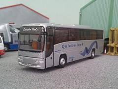 Executive Tour's what? (quicksilver coaches) Tags: volvo corgi model quicksilver oo paragon diecast 176 ooc plaxton code3 b12b originalomnibuscompany