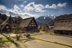 Thatched houses in Ogimachi village, Shirakawa-go (photopod) Tags: snow japan village shirakawago thatched hida ogimachi canon6d shirakawagoogimachi